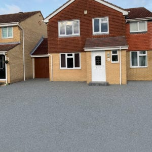 Resiscape Resin Bound Aggregate Midnight Ash