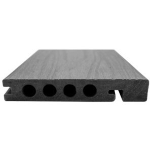 Piranha Hunter Mid Grey Composite Decking Edging Board