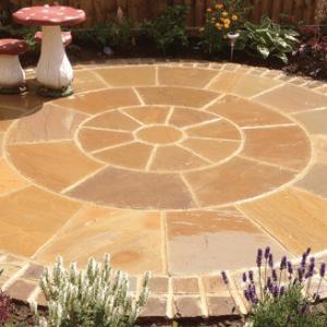 Buff Sandstone Circle