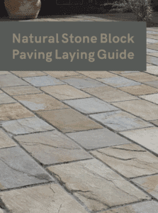 Natural Stone Patio Paving Laying Guide